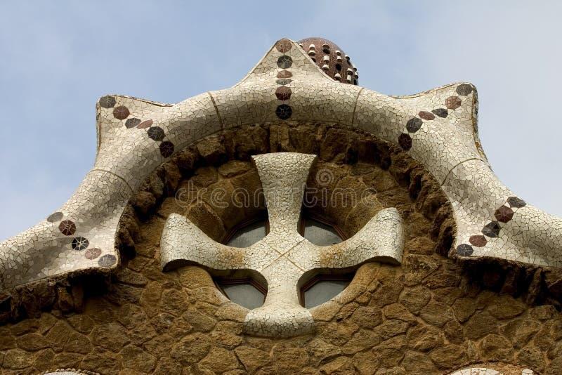 guellparc spain för 02 barcelona fotografering för bildbyråer