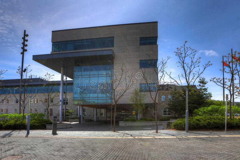 Guelph Δημαρχείο στο Οντάριο, Καναδάς στοκ φωτογραφίες