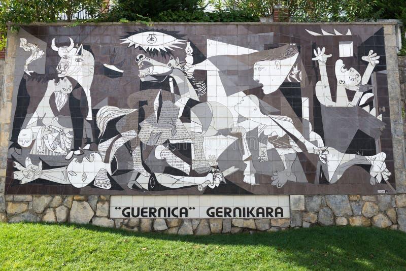 Guernica, Espanha foto de stock