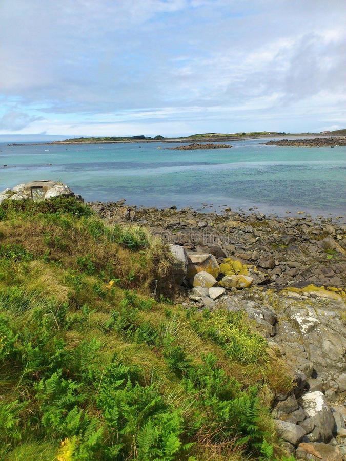 Guernsey καλοκαίρι στοκ φωτογραφία με δικαίωμα ελεύθερης χρήσης