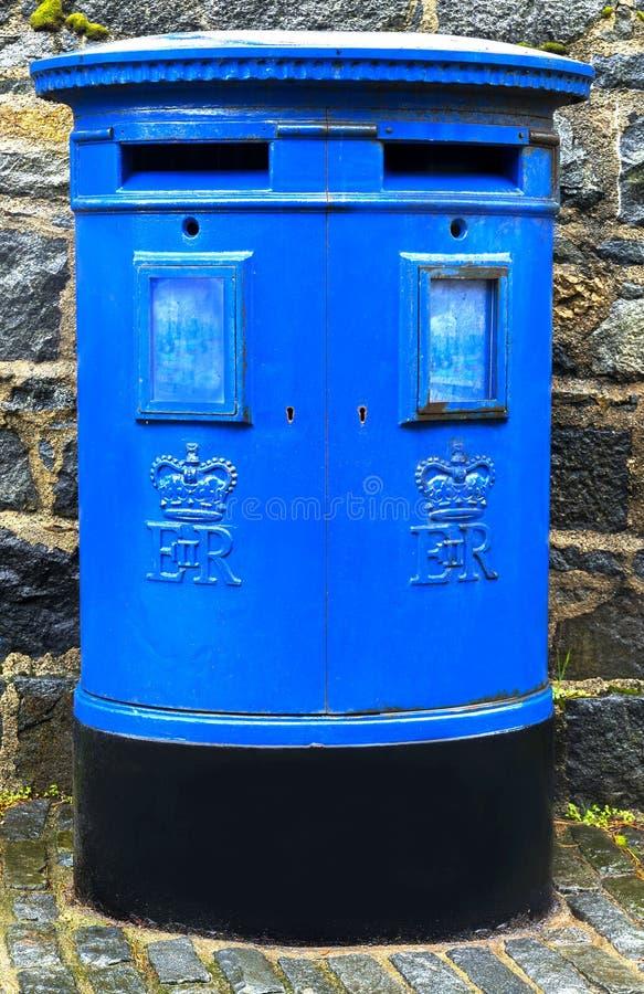 Guernsey skrzynka pocztowa zdjęcie royalty free