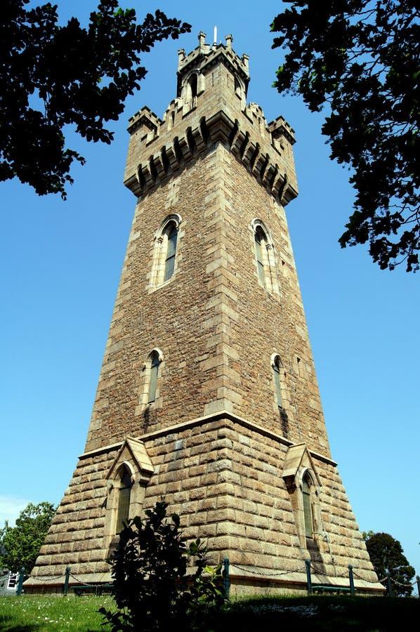 Guernsey Victoria Tower arkivbilder