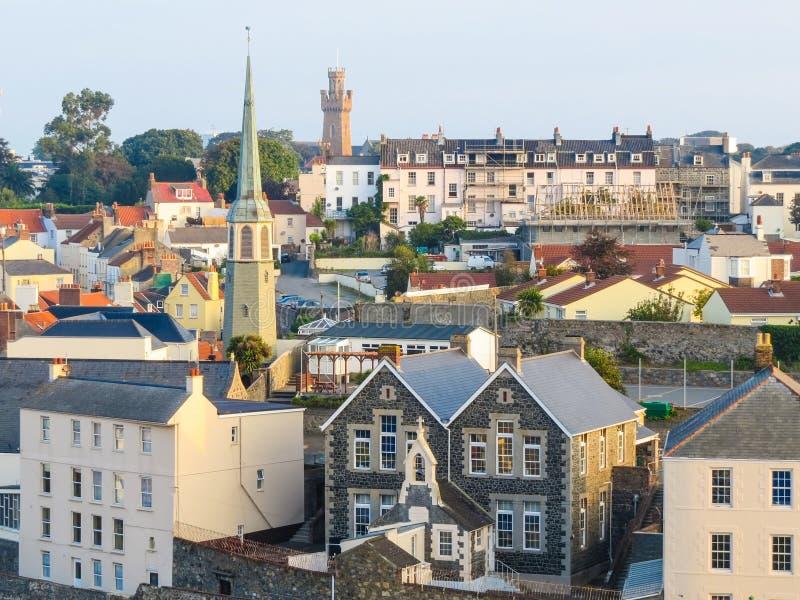 Guernsey wyspa obrazy royalty free