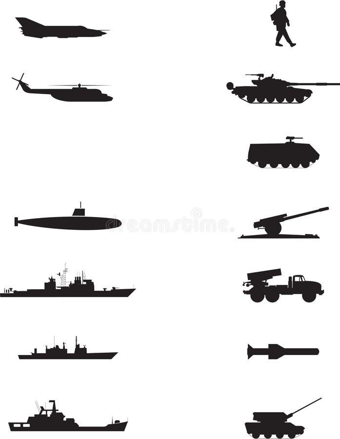 Guerra royalty illustrazione gratis