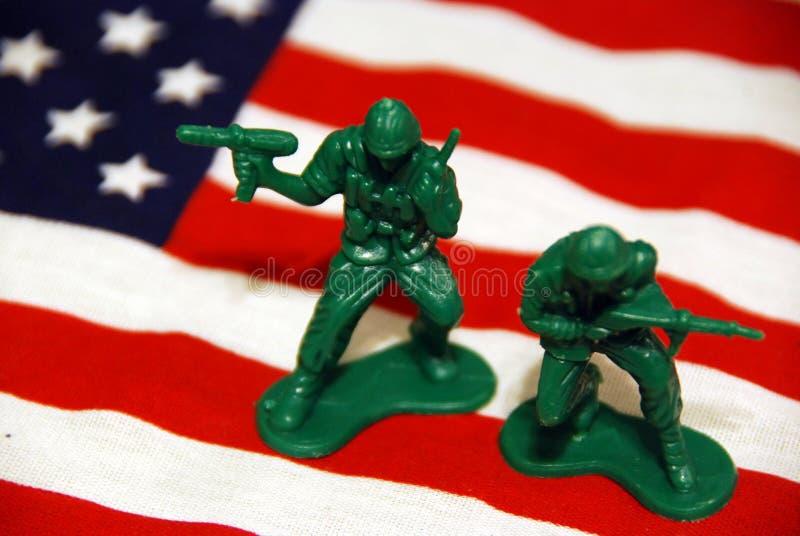 Guerra americana immagine stock