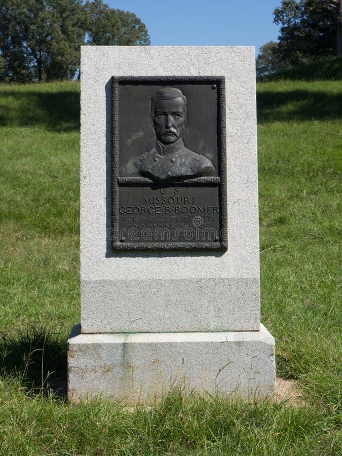Guerra civil de Missouri do Boomer de George B imagem de stock