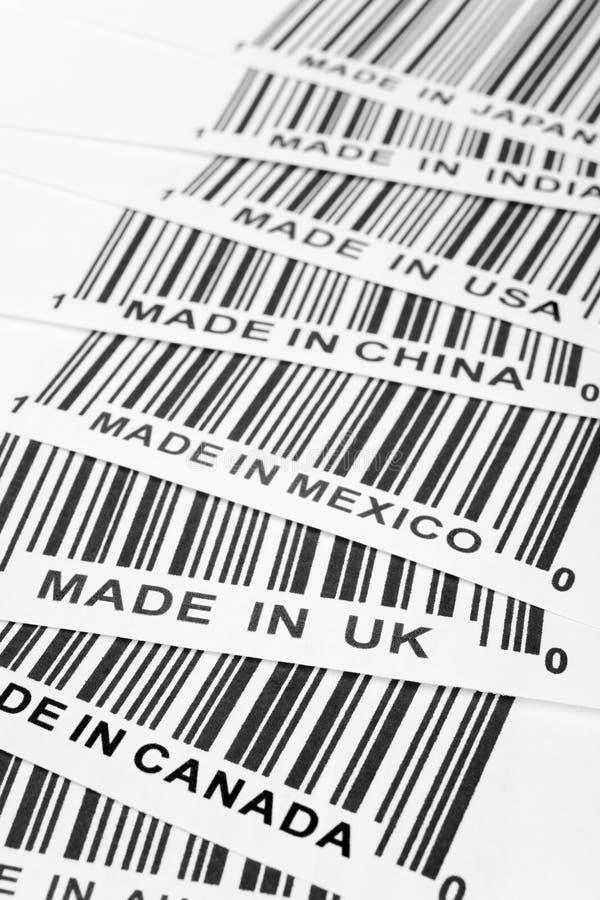 Guerra commerciale immagini stock