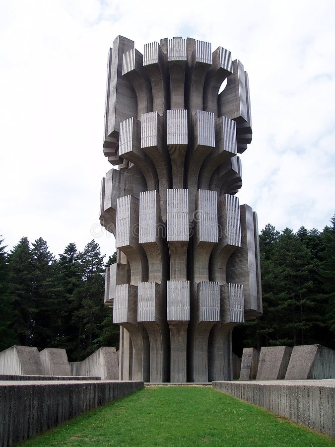 Guerra de mundo 2 do monumento foto de stock royalty free