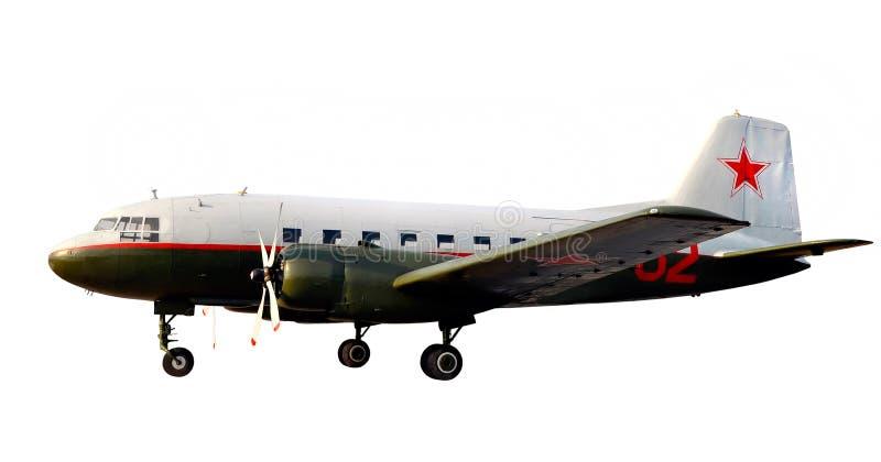 A guerra de mundo emprestar-aluga o avião dc-3 li-2 imagem de stock