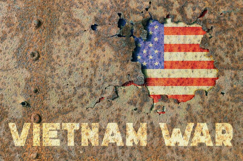 Guerra de Vietnam fotografía de archivo