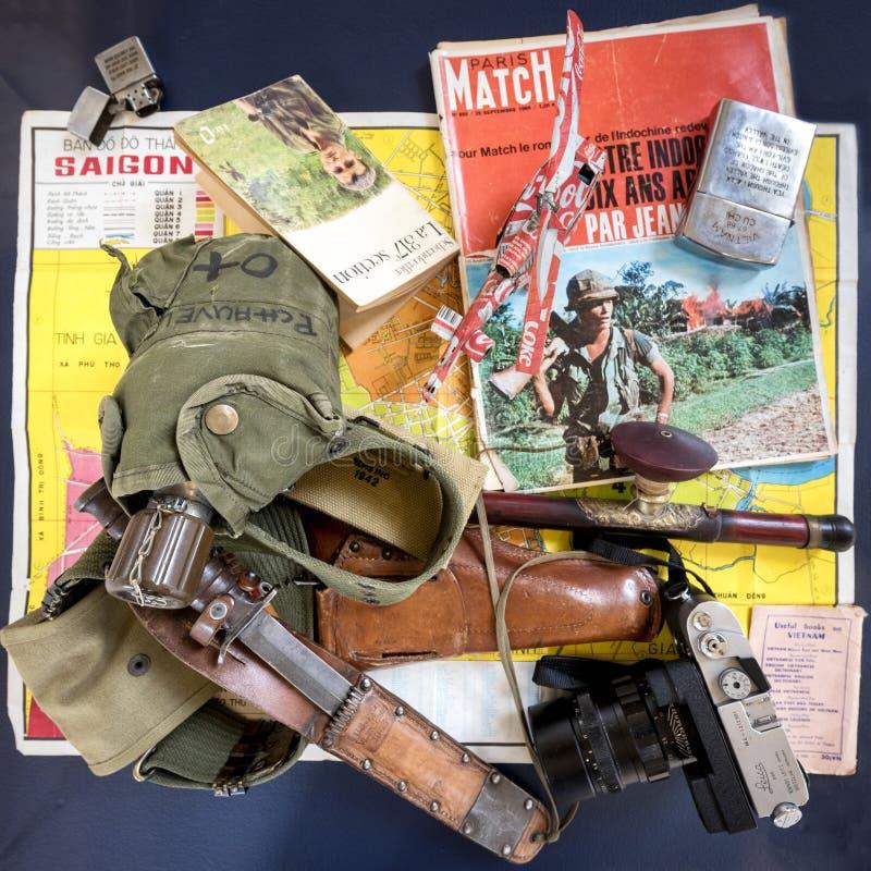 Guerra de Vietnam en fondo foto de archivo libre de regalías