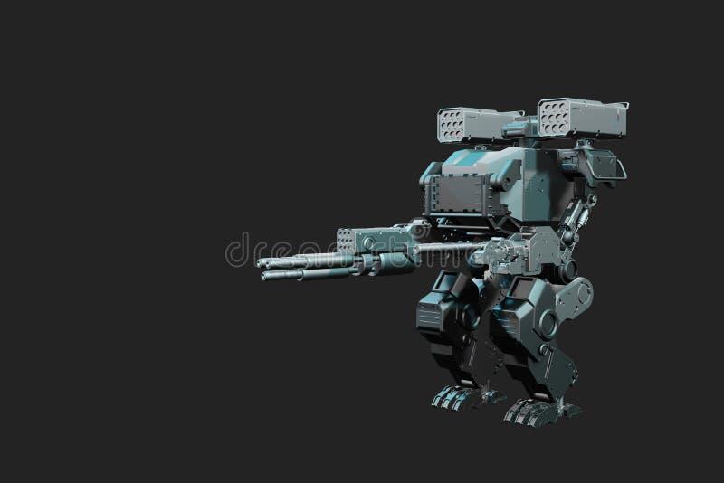 guerra del robot 3d foto de archivo