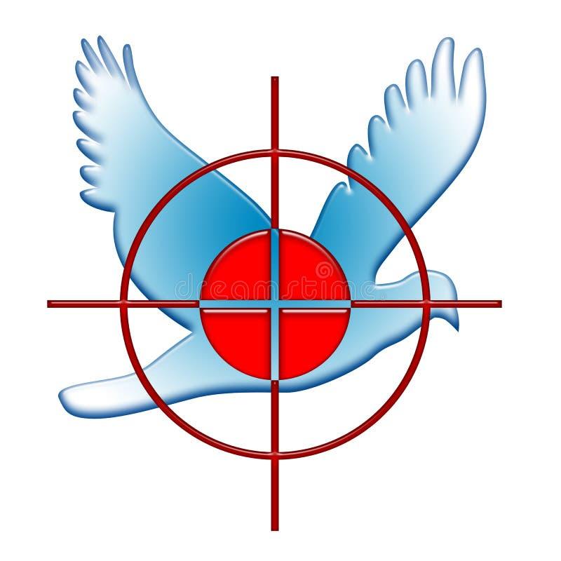 Guerra e paz ilustração royalty free