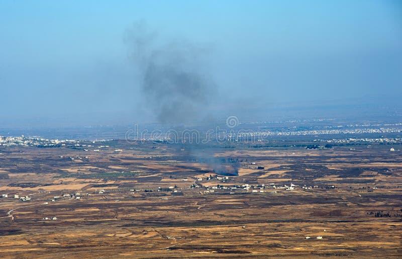 Guerra em Syria fotografia de stock royalty free