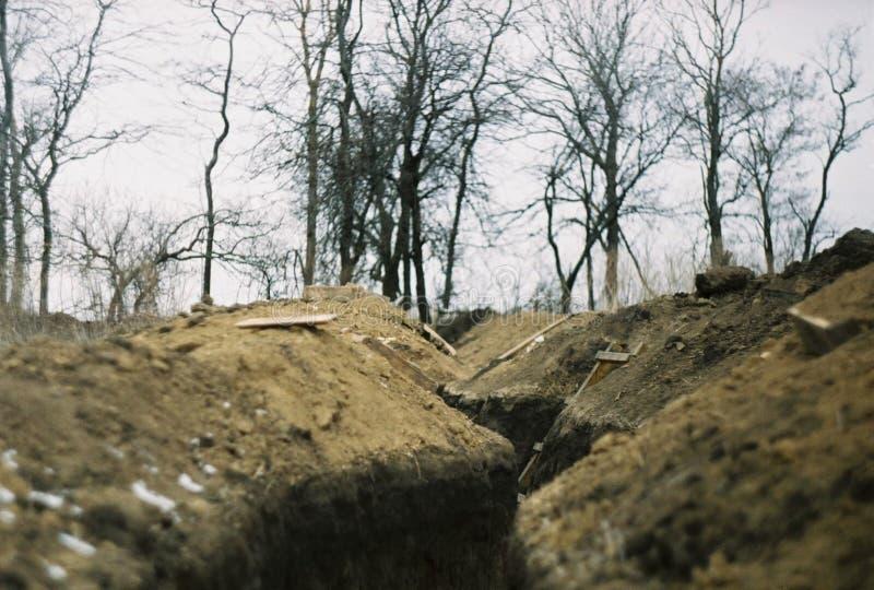Guerra en Ucrania foto de archivo