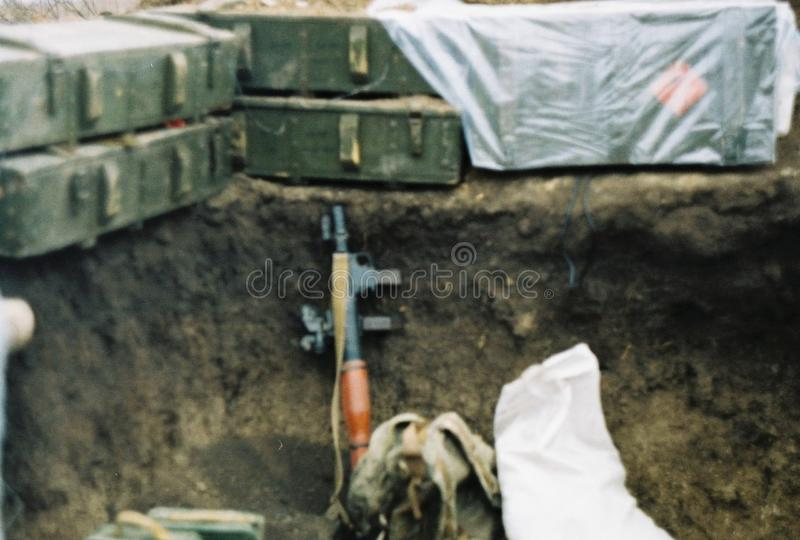 Guerra en Ucrania fotos de archivo