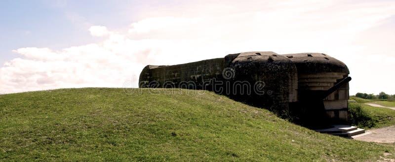 Guerra mundial de la arcón 2 Normandía 2015 fotos de archivo libres de regalías
