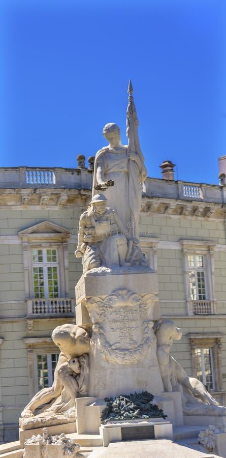Guerra mundial 1 Lisboa Portugal imágenes de archivo libres de regalías