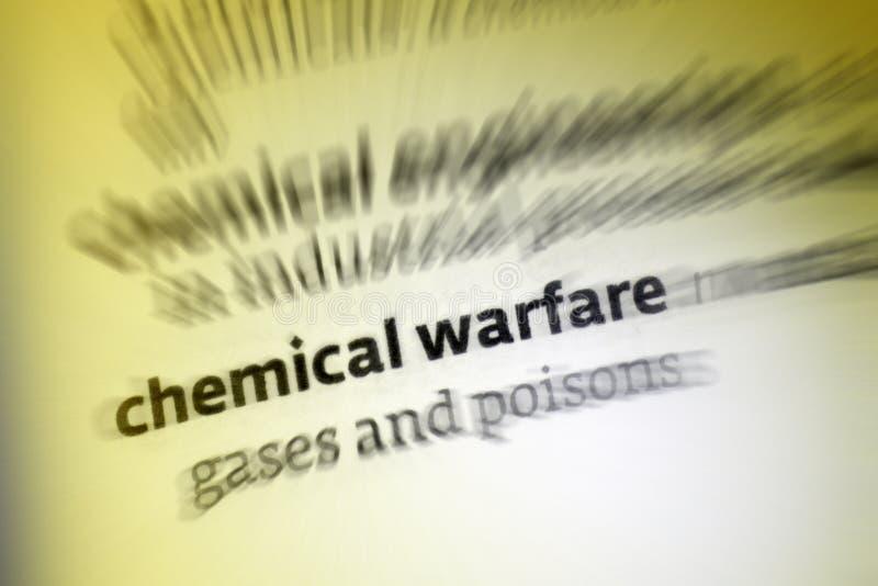 Guerra química fotos de stock royalty free