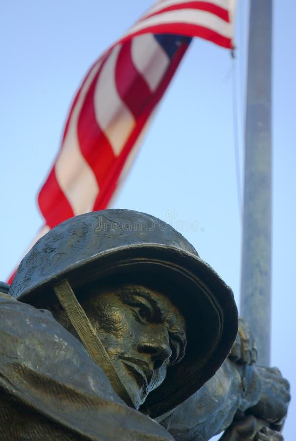 Guerra Washington memorável de Iwo Jima, C.C. imagem de stock