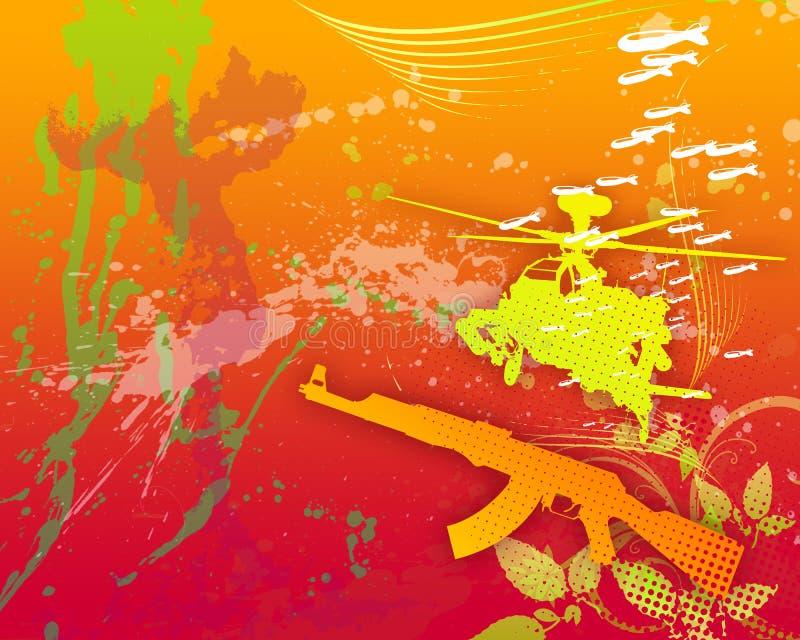 Guerre 01 illustration libre de droits