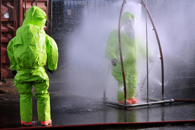 Guerre chimique et biologique image stock