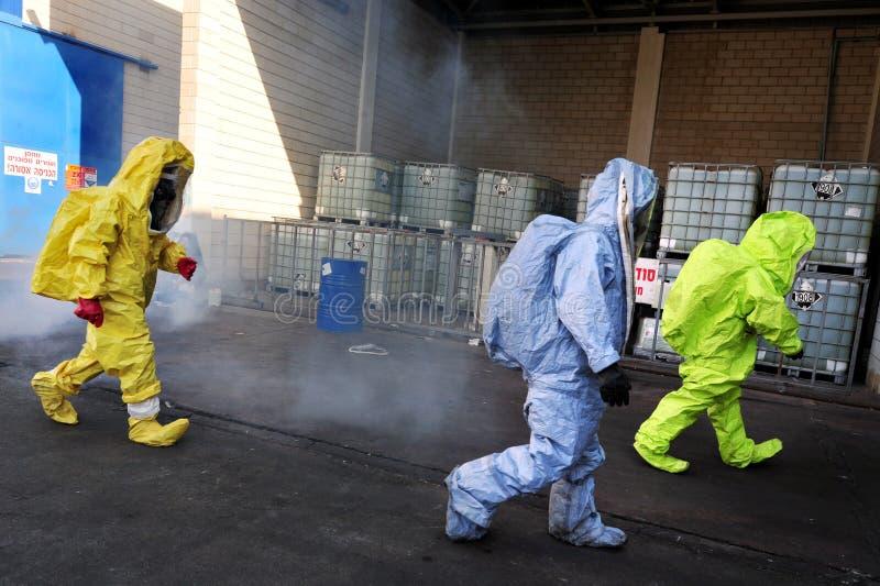 Guerre chimique et biologique images stock
