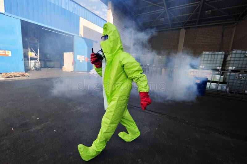 Guerre chimique et biologique photographie stock libre de droits