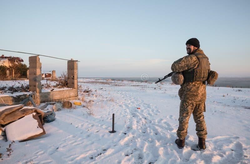 Guerre de Russias contre l'Ukraine photo stock