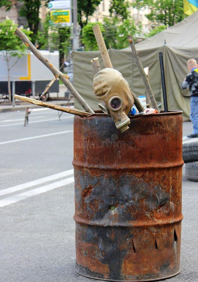 Guerre et destruction photographie stock libre de droits