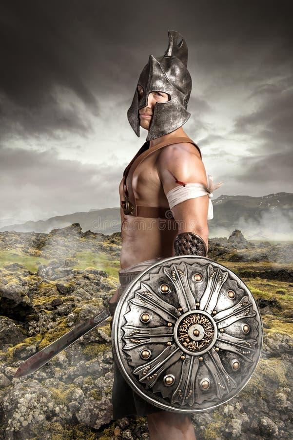 guerreiro foto de stock