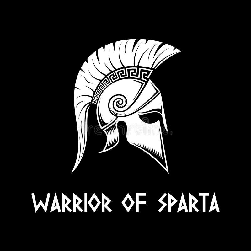 Guerreiro de Sparta ilustração stock