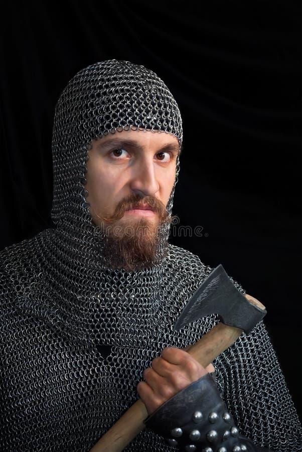 Guerreiro medieval fotos de stock royalty free
