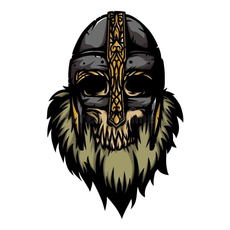 Guerreiro nórdico 7 ilustração stock