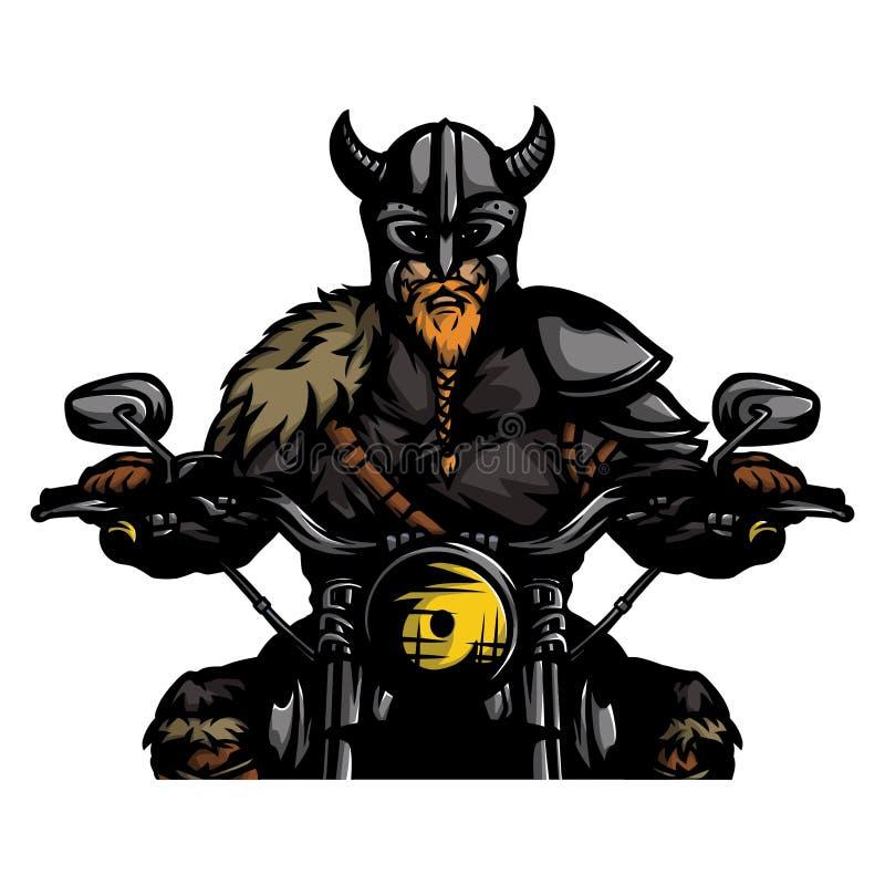 Guerreiro nórdico 6 ilustração do vetor