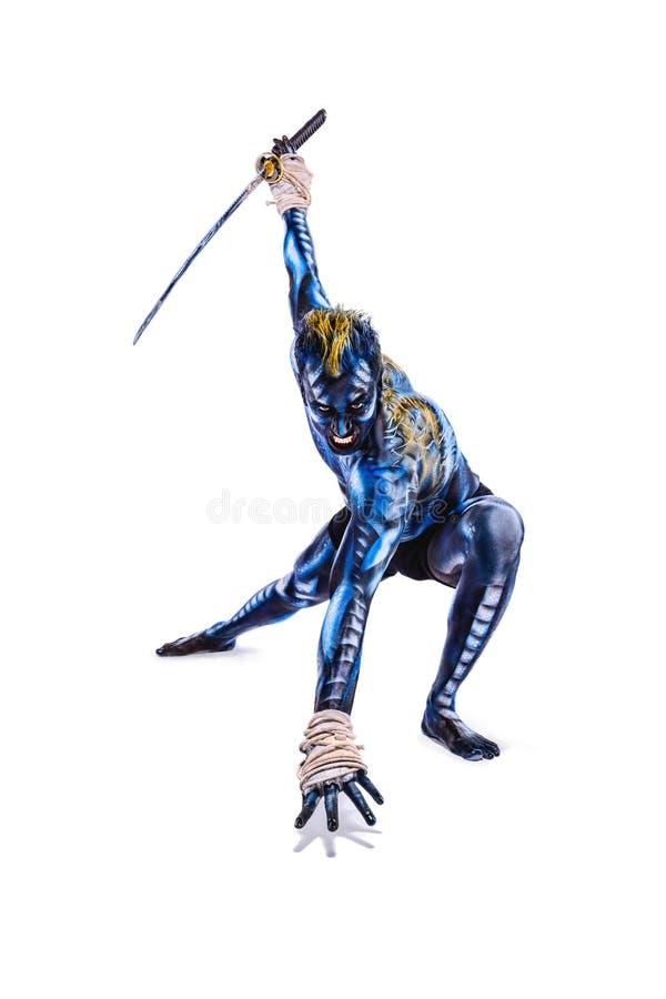 Download Guerreiro pintado BB147931 foto de stock. Imagem de misterioso - 65575064