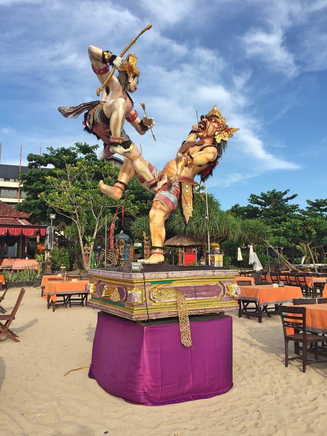 Guerreros de Bali imágenes de archivo libres de regalías