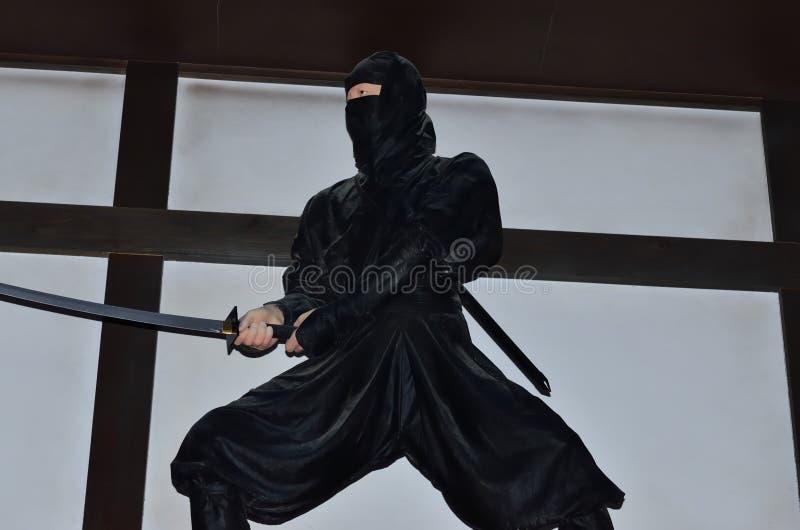 Guerrier de Ninjya, Japon image libre de droits