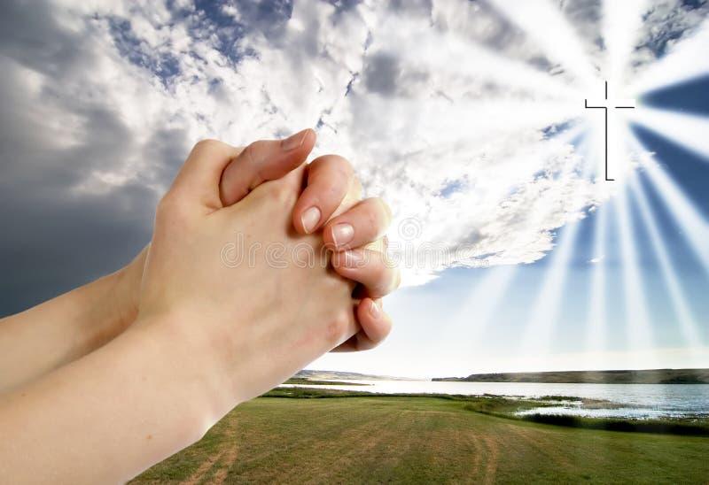 Guerrier de prière photos libres de droits