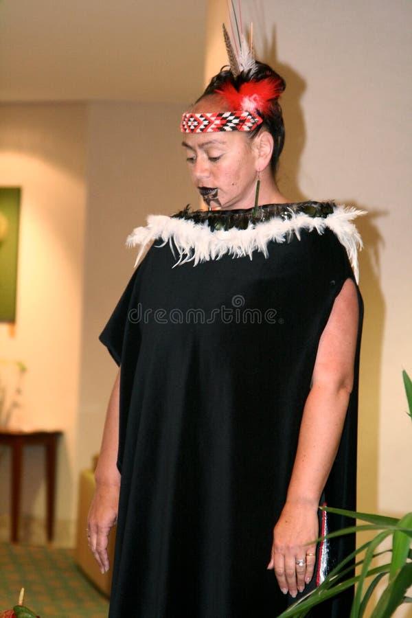 Guerrier maori photos libres de droits