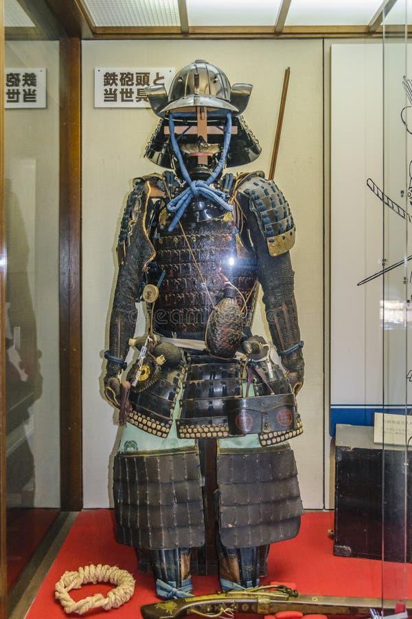 Guerrier samoura? Cosutme ? l'affichage image libre de droits