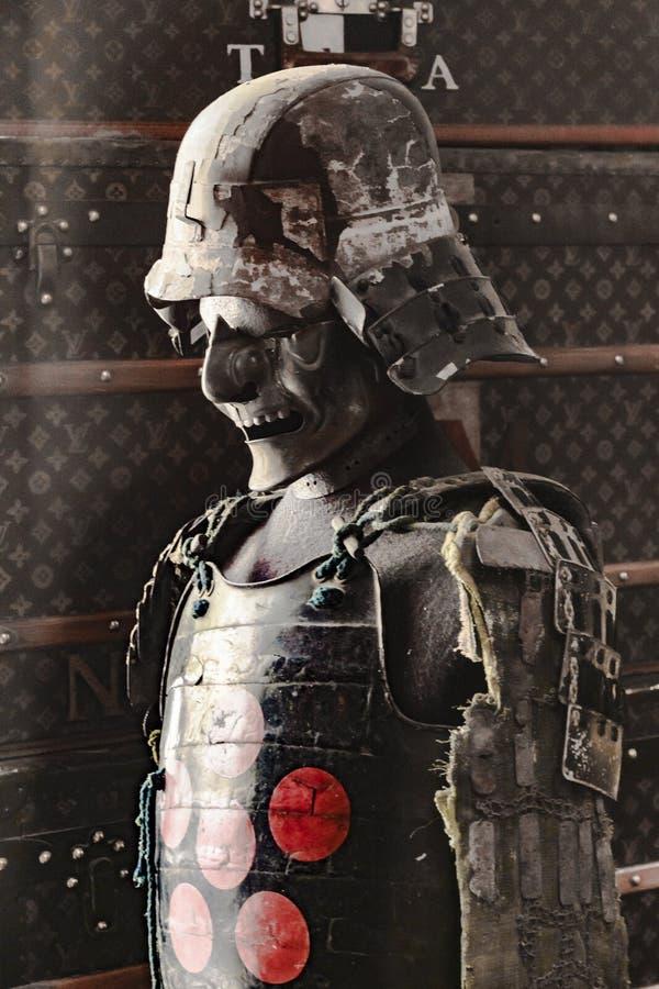 Guerrier samouraï Cosutme images libres de droits