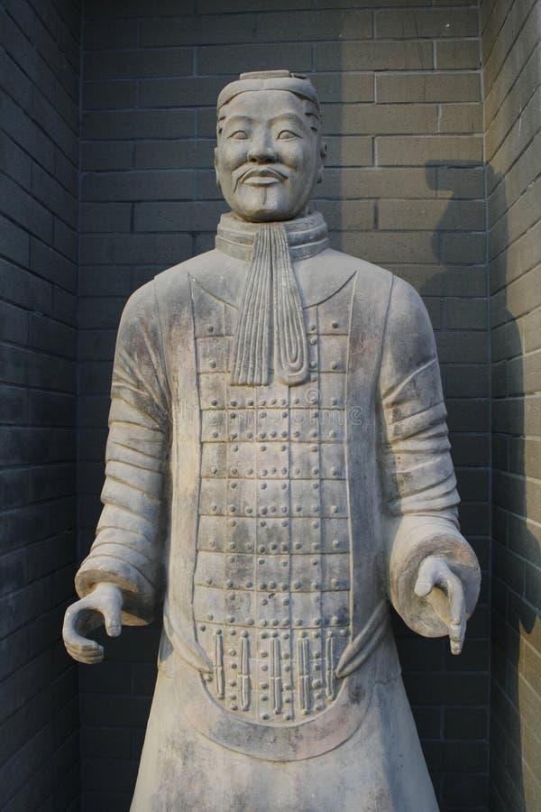 Guerriero di terracotta a Xi'an fotografia stock