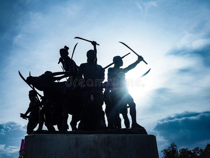 guerriers photo libre de droits