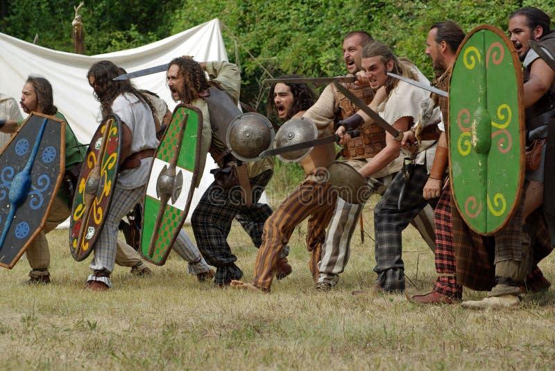 Guerriers celtiques photos stock