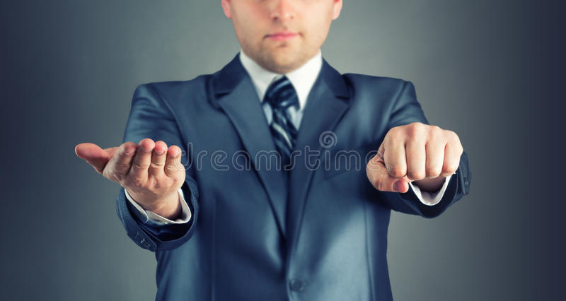 Download Guess hand stock image. Image of businessman, person - 30328529