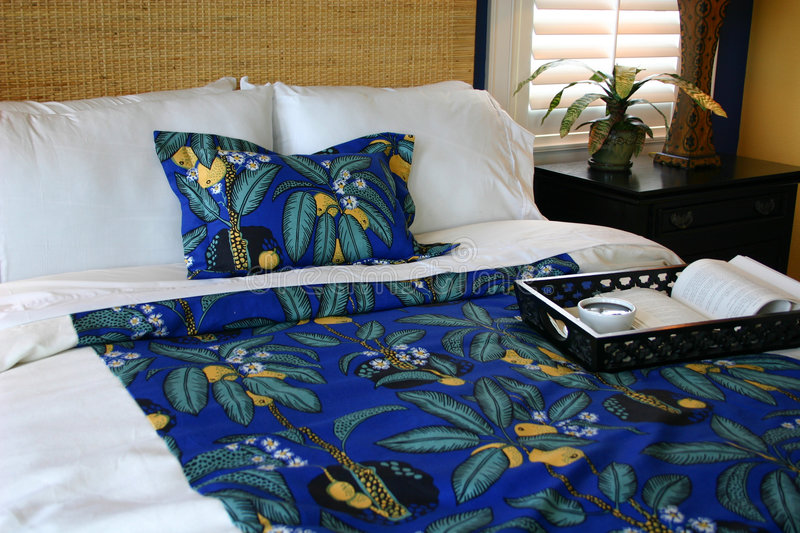 Guest bedroom royalty free stock photography