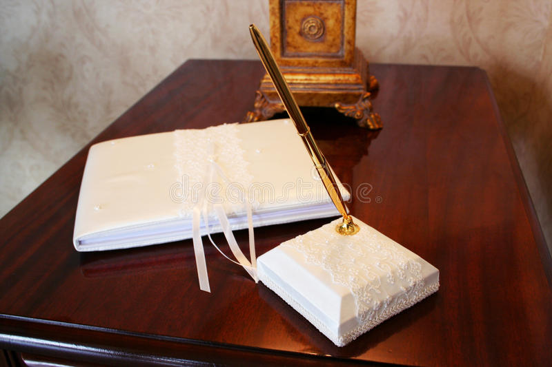 Download Guest Book stock image. Image of table, stand, guest - 12001499