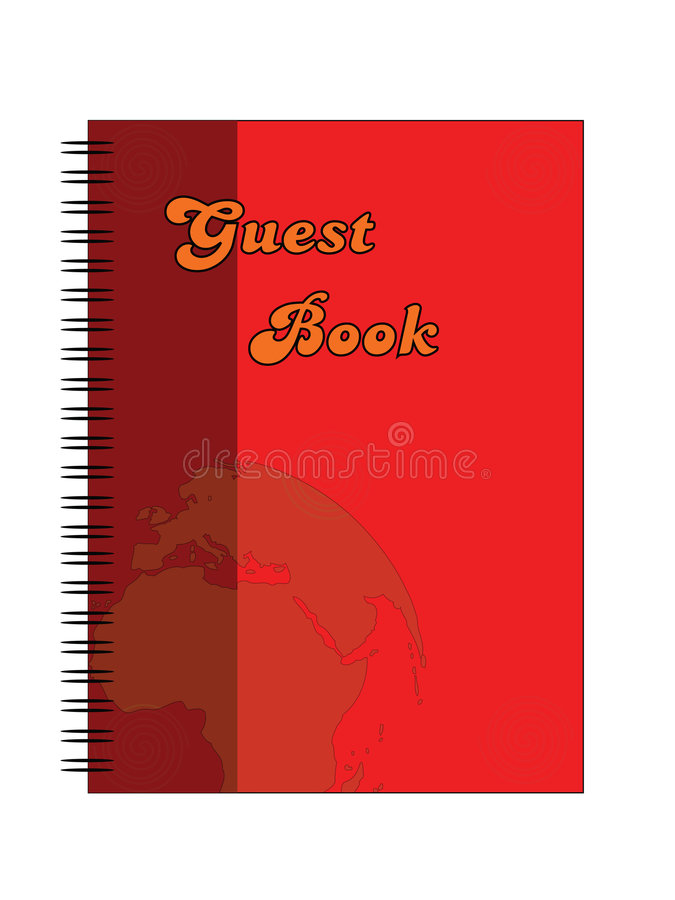 Download Guest book stock vector. Image of learning, magazine, education - 3191207