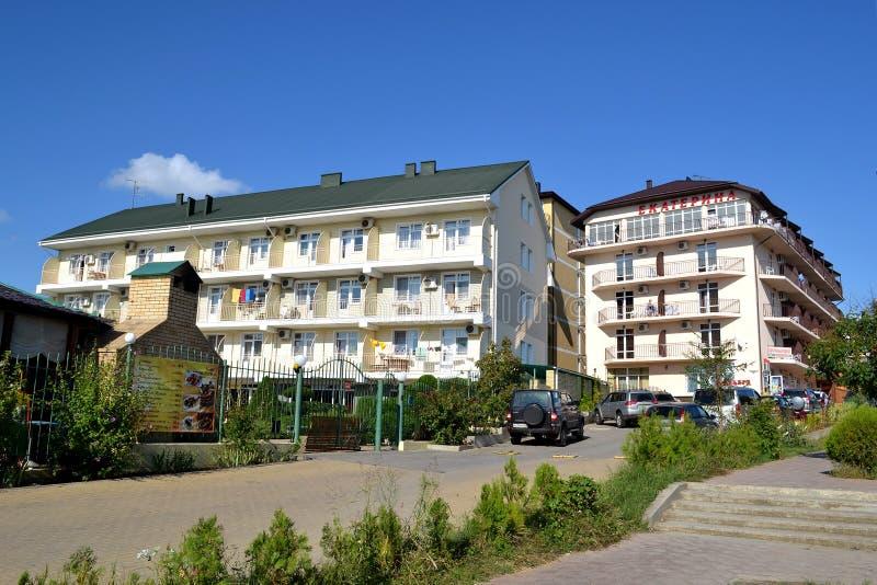 Download Guest Houses On The Street In Vityazevo, Krasnodar Krai, Russia Editorial Photo - Image of house, resort: 35111656
